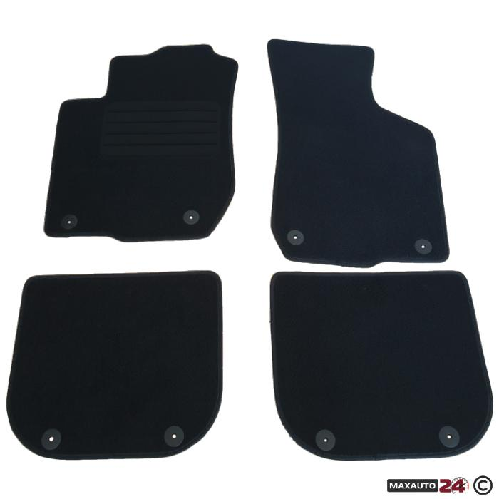 Мокетни стелки Paolo зa Audi A3 96-03 4 части - 0