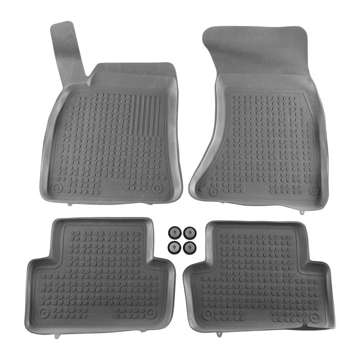 Гумени стелки Rezaw-Plast за Audi A4 2007-2015 / Audi A4 Avant 2008-2015 / Audi A4 Allroad 2009- / Audi A5 Sportback 2009- - 0