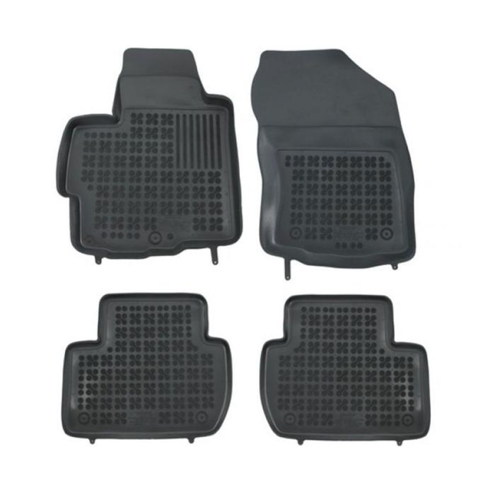 Гумени стелки Rezaw-Plast за Mitsubishi Outlander / Citroen C-Crosser / Peugeot 4007 2007-2014 - 0