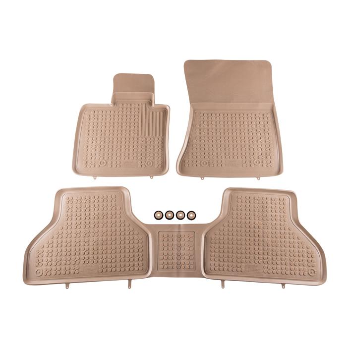 Гумени стелки Rezaw-Plast за BMW X5 E70 2006-2013 / BMW X6 E71 2008-2014 - 0