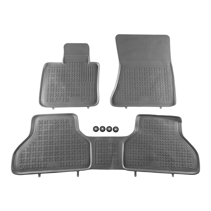 Гумени стелки Rezaw-Plast за BMW X5 E70 2007-2013 / X6 E71 2008-2014 - 0