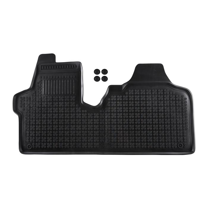 Гумени стелки Rezaw-Plast за Citroen Jumpy II / Fiat Scudo II / Peugeot Expert II 2006-2016 / Toyota Proace 2013- с подсилена част на шофьорската страна - 0