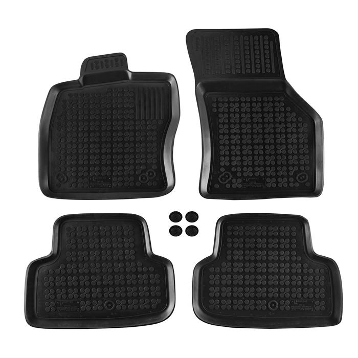 Гумени стелки Rezaw-Plast за VW Golf VII 2012-2019 / Audi A3 седан / Sportback след 2012 - 0