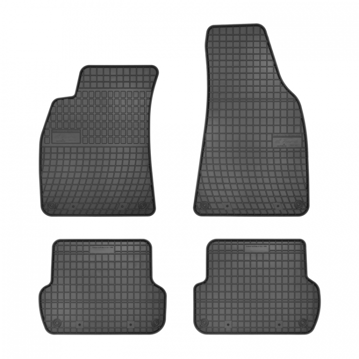 Гумени стелки Frogum за Audi A4 B6 (8E) - (2000-2004) / Audi A4 B7 (8F) - (2004-2007) - 0