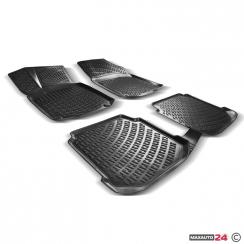 Гумени стелки Frogum за Toyota Yaris II - 2005-2011 - 11