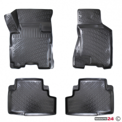 Гумени стелки Rezaw-Plast за BMW серия 7 F01 къса база 2008- - 9