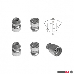 Гумени стелки Rezaw-Plast за VW TOUAREG 3III 5 места след 2018 - 13