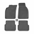 Гумени стелки Rezaw-Plast за Audi A6 2004-2008 седан/комби / Audi A6 allroad QUATTRO 2006-2011 - 3